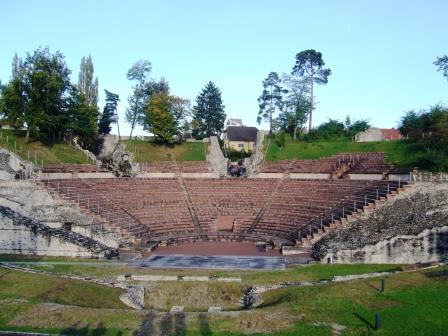 Théâtre d'Augusta Raurica (Augst-Kaiseraugst, Suisse)