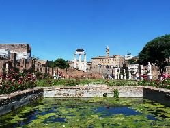 Forum Romanum, Maison des Vestales